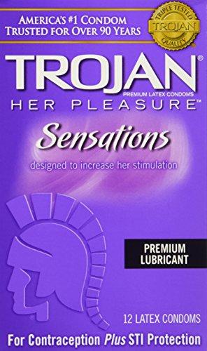 trojan-her-pleasure-sensations-lubricated-latex-condoms-12-ct-quantity-of-3-by-trojan