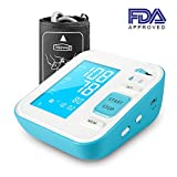"""PERBEAT B02 Upper Arm Blood Pressure Monitor, Fully Automatic Digital Heart Rate Monitors for Home Use with Large LCD Display, lrregular Heartbeat Detector,120 Memories for 2 Users,8.7""""-15.8"""" Cuff Size"""
