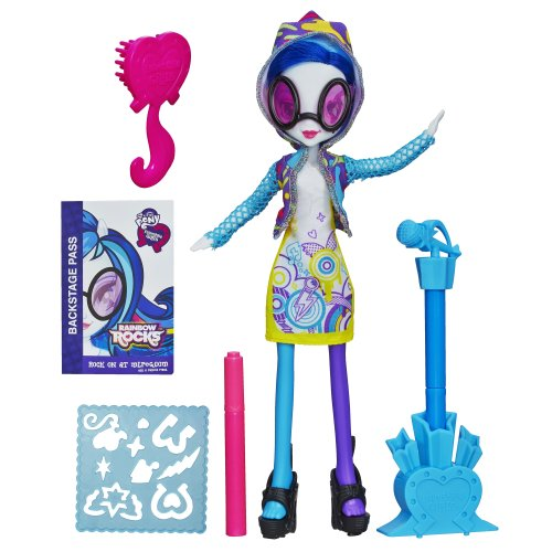 My Little Pony Equestria Girls Stamp Pad Guitar and Stamper Shoes DJ PON-3 Doll