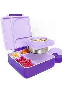 lunch Avec compartiment thermos isotherme Pour enfants bleu ciel Bo/îte repas Omiebox Bento
