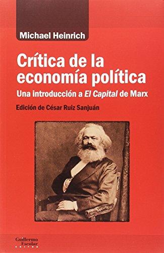Crítica de la economía política (Análisis y crítica) por Michael Heinrich