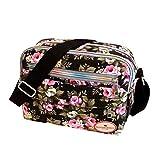 Felicove Damen Schultertasche, Canvas Umhängetasche Schultertasche Messenger Bag Kosmetiktasche Fashion Messenger Bags