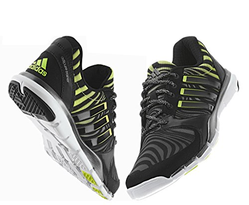 adidas Adipure Trainer 360 CC Celebration Chaussures de Course Chaussures Running Jogging Taille 37 1/3, Noir/Jaune