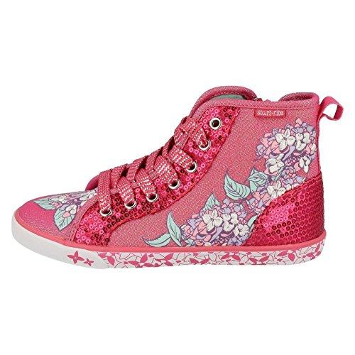 Start Rite , Sandales Compensées fille Pink Sparkle