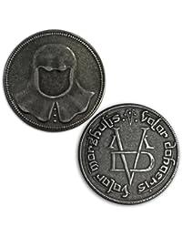 De pared de hierro Juego de Tronos en la articulación de los de hombre monedas sin rostro Arya Valar de espesor Morghulis HBO