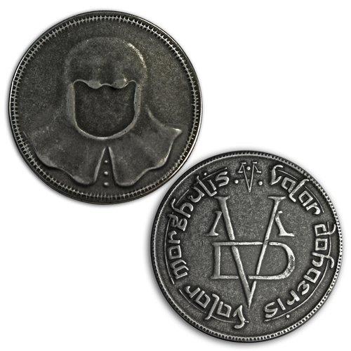 Game of Thrones fer pièce de monnaie de l'homme sans visage