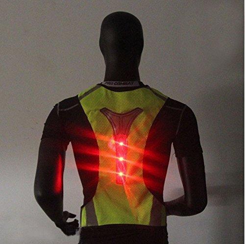 OUTERDO-Gilet-ad-alta-visibilit-gilet-catarifrangente-gilet-di-sicurezza-con-strisce-riflettenti-a-LED-per-attivit-notturne-nel-traffico-running-ciclismo-passeggiate-e-lavoro-Type-1