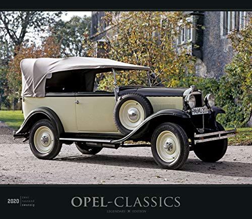 Opel-Classics - Kalender 2020 - Alpha Edition-Verlag - Wandkalender mit faszinierenden Fotos und Platz zum Eintragen - 33,5 cm x 29 cm -