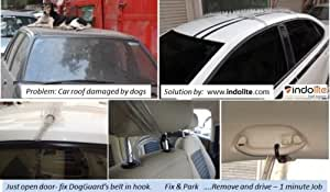 Stop DOG / MONKEY from sitting on Car Roof - Save car