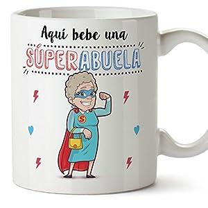 página web perfecta: Tazas para Abuelas – AQUÍ Bebe UNA Super Abuela – La Mejor Taza Desayuno del Mun...