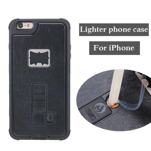 Multifunción encendedor y abrebotellas funda híbrida para iphone 7y 7Plus