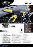 Artago 870 Antirrobo Coche Volante Salpicadero con Alarma Inteligente 120db Alta Gama, 2en1