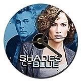 MasTazas Shades of Blue Jennifer Lopez Ray Liotta Orologio CD Clock 12cm