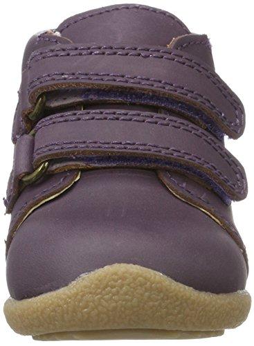 EN FANT Baby Mädchen Beginner Shoe Velcro Lauflernschuhe Violett (Purple)