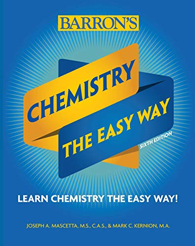 Chemistry: The Easy Way (Barron's Easy Series) por Joseph A. Mascetta