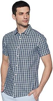 Amazon Brand - Symbol Men's Regular fit Casual S