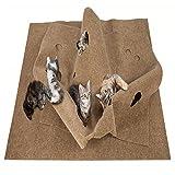 Arvin87Lyly Katzen Kratzmatte Kratzspielzeug Faltbare Haustier Training Matte