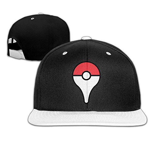 ogbcom-pokemon-go-gorra-ajustable-hip-hop-gorra-de-beisbol-sombrero-para-unisex