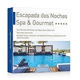 ALADINIA Box Caja Regalo Pack Escapada SPA y Gourmet Dos Noches para Dos Personas con Validez Ilimitada | Más de 50 Opciones para Elegir