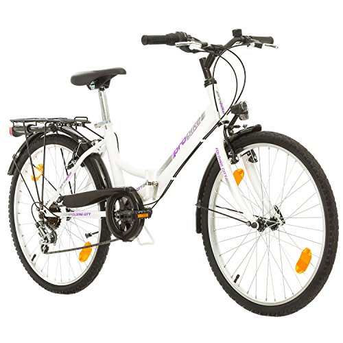 Multimarca, Folding City 24 Lady, 24 Pulgadas, 457 mm, Bicicleta de Montaña...