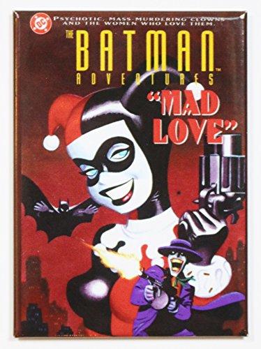 Ata-Boy DC Comics Batman Adventures Harley Quinn Mad Love Magnet by Ata-Boy