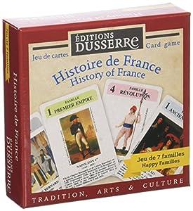 Editions Dusserre DUF01Juego 7Familias Historia de Francia-Juego histórico
