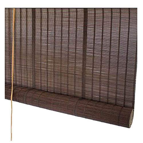 Shading Bambus-Bildschirm, Rollos Bambus-Jalousien Office Sonnenschutz Vorhang Halbperspektive Veranda Partition Staubdicht, Mehrere Größen Erhältlich, MTX Ltd, b, 90X220CM