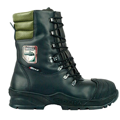 Cofra Power Chainsaw Boots Class 2 Forestry Boot#UK 11~Black