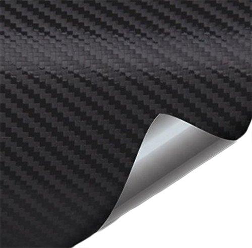 Chytaii Auto 4D Carbonfaseraufkleber Auto Lackschutzfolien