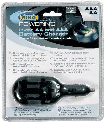 Preisvergleich Produktbild Ring Automotive RMS6 Batterieladegerät für AA und AAA Batterien, 12 V