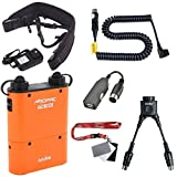 Fomito Godox PB960 Portable Extended Flash Power Battery Pack Kit Dual Output