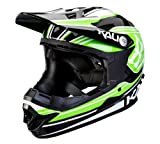 Naka DH Helm Slash ABS Shell - green/black