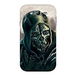 Delighted Deadly Skull Back Case Cover for Galaxy Grand