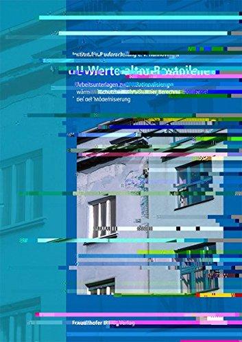 u-werte-alter-bauteile-arbeitsunterlagen-zur-rationalisierung-warmeschutztechnischer-berechnungen-be