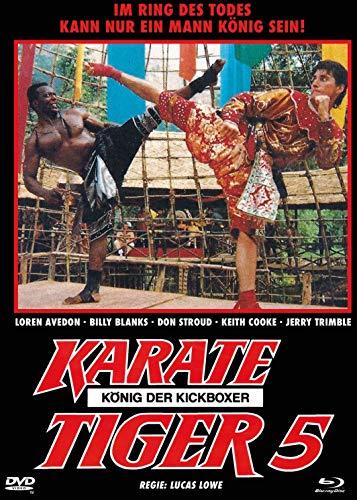 Karate Tiger 5 - König der Kickboxer - Mediabook Blu-ray & DVD - streng limitierte Auflage - Cover C