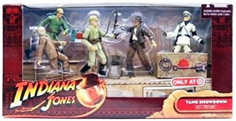 Indiana Jones Tank Showdown 5 Figurines Set Vogel - Henry-