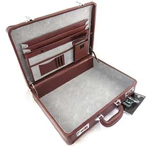 Briefcase 'Manhattan' brown.