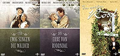 3x DVD-Filme: 1 DVD: Das Erbe von Björndal + DVD 2: Und ewig singen die Wälder + DVD 3: Im Weißen Rössl