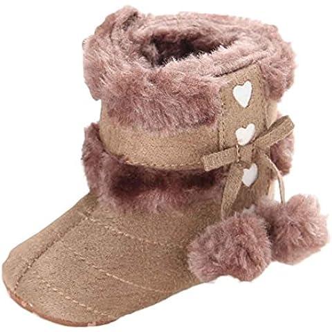 Kingko® Carino Pattini di bambino molli Scarpe Sole neve stivali