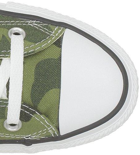 Converse Chuck Taylor All Star Cam Print Hi, Baskets mode mixte adulte Vert (Vert Camo)