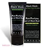 Shills Purifying Activated Charcoal Peel Off Mask – Eliminates Blackheads, Controls Acne-Causing Oils and Restores Skin - Genuine Product, Natural Ingredients, Easy Application (50ml)