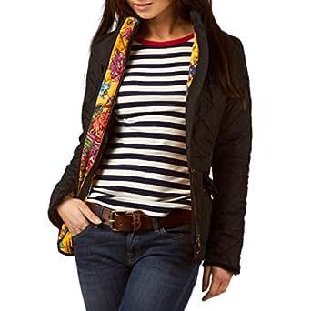 Joules Ladies? Moredale Quilt Jacket - Black - O_MOREDALE - 20