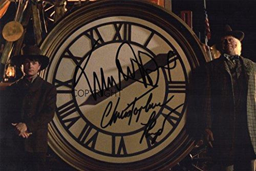 Signiertes Foto, limitierte Auflage, vom Cast des Films Zurück in die Zukunft, Fotodruck mit bedruckter Signatur und Zertifikat