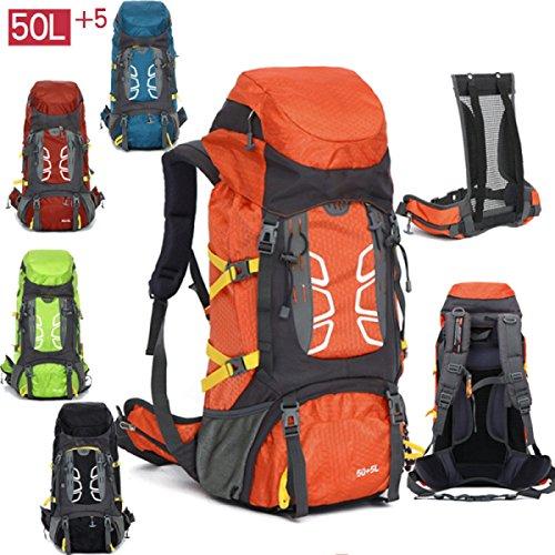Bergsteigen Tasche Outdoor Camping Zelt Reise Wandern Paket Sporttasche,Red Red