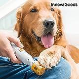 GKA Elektrische Krallenfeile Krallenpflege Hund Katze schmerzlos Einfach Schnell Rundfeile 3 Feilen und Ersatzteile