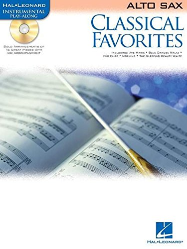 Classical favorites saxophone+CD