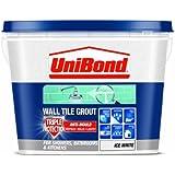 UniBond Triple Protect Anti-Mould Wall Tile Grout - 1 L, White