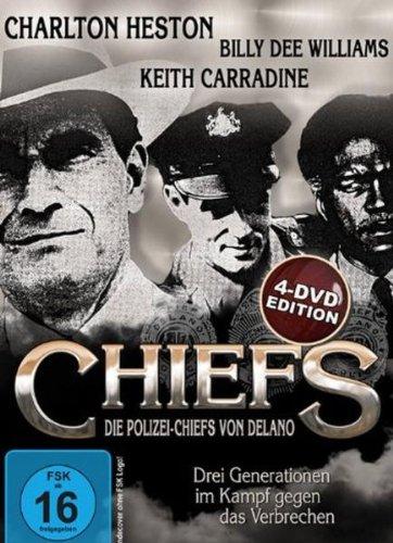 Die Polizei-Chiefs von Delano: Miniserie plus Kinofassung (4 DVDs)