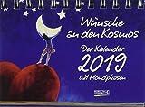 Wünsche an den Kosmos 2019: Tages-Aufstellkalender - Jutta Beuke, Ilse Baumgarten