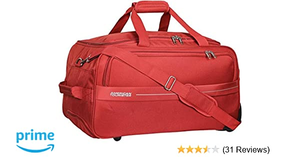 ca1fd0a12b American Tourister Marco Polyester 64 cms Rust Travel Duffle (93O (0) 12  002)  Amazon.in  Bags